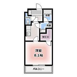 エコールド松葉[105号室]の間取り