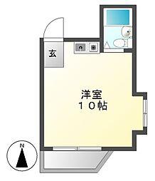G1ビル大曽根[2階]の間取り