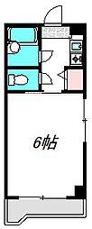 大阪府守口市平代町の賃貸マンションの間取り
