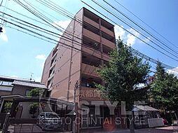 京都府京都市中京区西ノ京西円町の賃貸マンションの外観