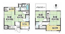 JR総武本線 新小岩駅 徒歩16分 4Kの間取り