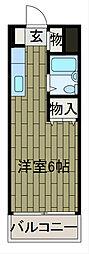 コスモス町田B棟[1階]の間取り