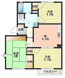 スモールリバーハウス[1階]の間取り