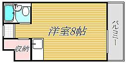 グレース北沢[2階]の間取り