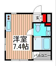 will Do 南浦和[4階]の間取り
