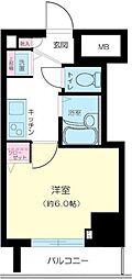 ガーラ芝御成門[12階]の間取り