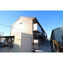 茨城県土浦市中の賃貸アパートの外観