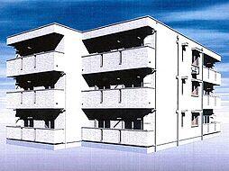 仮称)春日町新築アパート[202号室]の外観