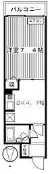 ライオンズマンション前橋 113号 分譲[113号室号室]の間取り