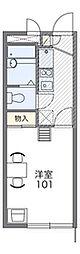 ガーデニア横浜[2階]の間取り