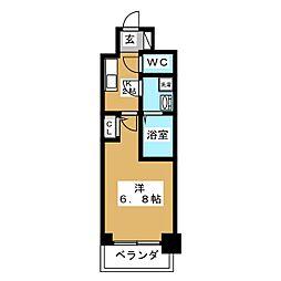 S RESIDENCE鶴舞[13階]の間取り