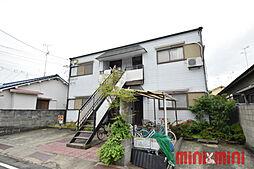 兵庫県伊丹市御願塚2丁目の賃貸アパートの外観