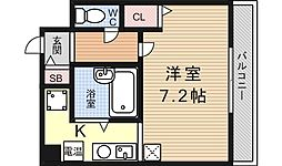 アルブル2[203号室号室]の間取り