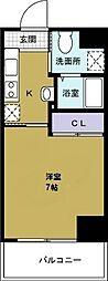 ウィステリアガーデン[6階]の間取り