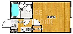 KTマンション[218号室号室]の間取り