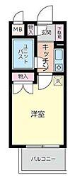 パレ・ドール鶴ヶ峰[6階]の間取り