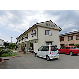長野県佐久市中込の賃貸アパートの外観