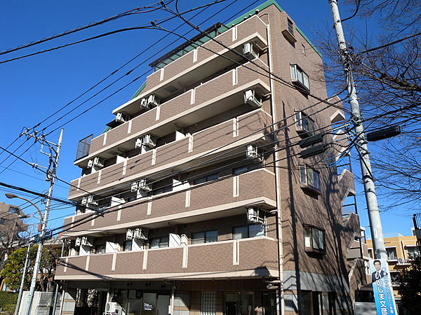 パトリア桜ヶ丘[112号室]の外観