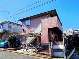 埼玉県所沢市東狭山ケ丘3丁目の賃貸アパートの外観