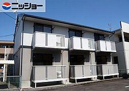 愛知県小牧市常普請3丁目の賃貸アパートの外観