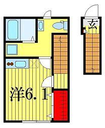 AZEST−RENT青砥[2階]の間取り