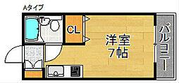 ハウス・ユウト[3階]の間取り