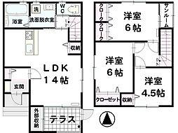 [一戸建] 石川県金沢市額新町1丁目 の賃貸【/】の間取り
