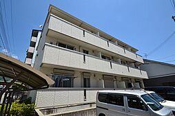 兵庫県神戸市東灘区深江北町1丁目の賃貸アパートの外観