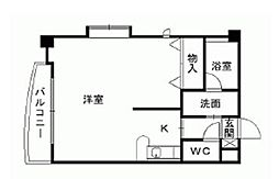 ディア・コート守恒[2階]の間取り