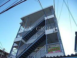 東京都国立市石田の賃貸マンションの外観