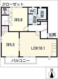 ATOM[1階]の間取り