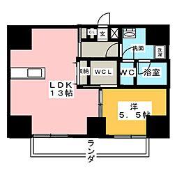 AXIA MEIEKI[10階]の間取り