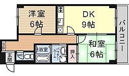 ドルチェ椥辻[311号室号室]の間取り