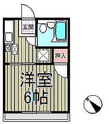 桜荘[2階]の間取り
