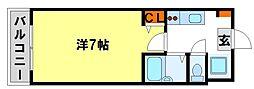 ラオム21[2階]の間取り