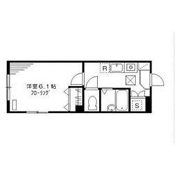 東京都世田谷区桜2丁目の賃貸マンションの間取り