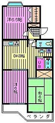 第二葵マンション[1階]の間取り