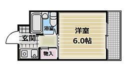 BFレジデンス小阪[3階]の間取り