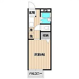 アモーネ内田[2階]の間取り