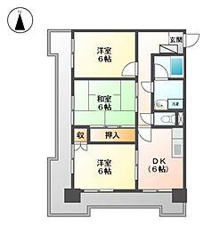 セキスイハイム徳川レジデンス[7階]の間取り