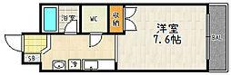 フレーヴァー深草II[105号室]の間取り