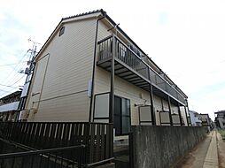 埼玉県草加市吉町2丁目の賃貸アパートの外観