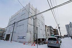 北海道札幌市白石区本通13丁目の賃貸マンションの外観