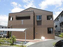 大阪府豊中市上津島3丁目の賃貸アパートの外観