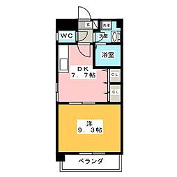 ソフィア御器所[2階]の間取り