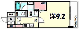 L・Isobe三宮[14階]の間取り