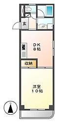KATOHマンション[1階]の間取り