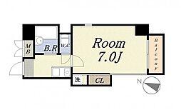 アンタンテ7th[6階]の間取り