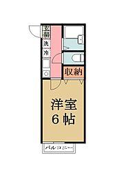 第39アベニュー氷川[105号室]の間取り