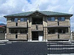 長野県長野市稲里1丁目の賃貸アパートの外観